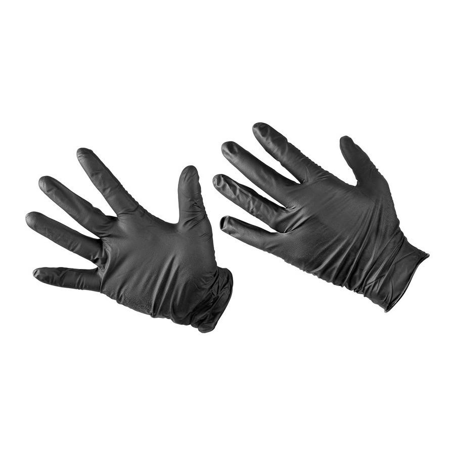 Chemicky odolné nitrilové rukavice Black Mamba Nitrile Gloves - L ... fe76cad857