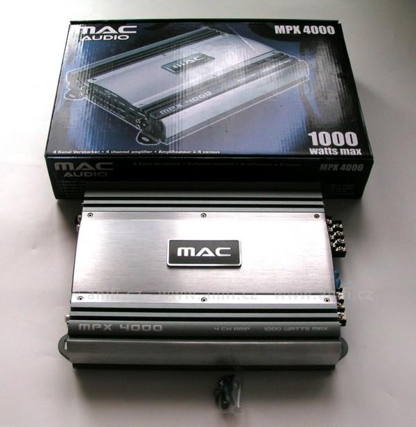 zesilova mac audio mpx 4000. Black Bedroom Furniture Sets. Home Design Ideas