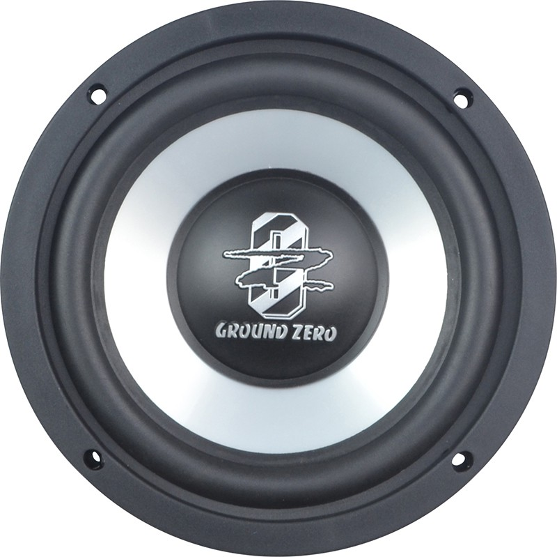 subwoofer ground zero gziw 165x. Black Bedroom Furniture Sets. Home Design Ideas