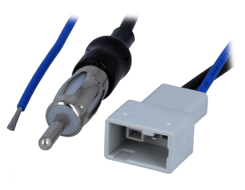 4carmedia anténní adaptér ISO úhlový