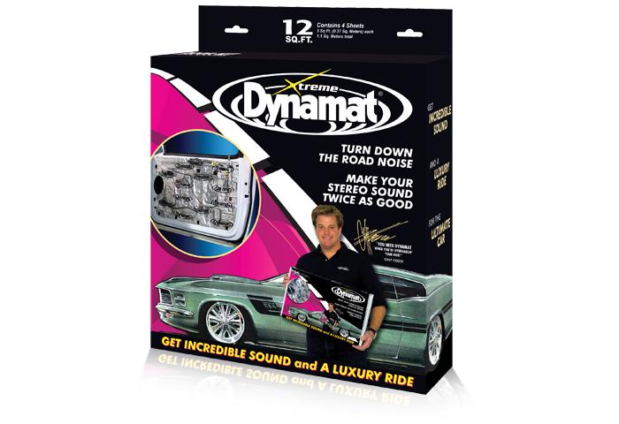 Tlumící materiál DYNAMAT XTREME DOOR PACK