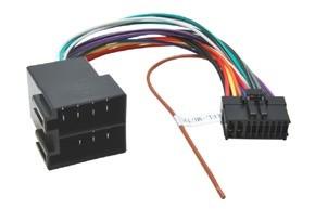 Pioneer 18 pin - ISO konektor