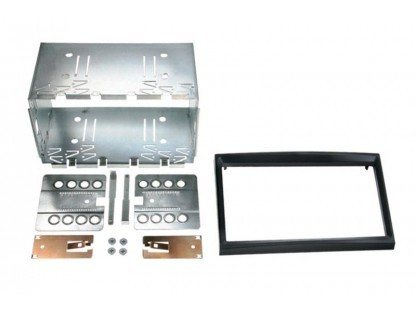 Rámeček autorádia 2DIN - Peugeot / Citroen / Toyota / Fiat / Toyota UNI1
