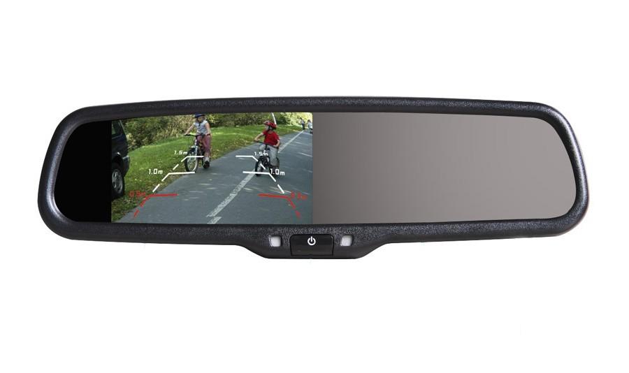 AK-043LA monitor v zrcátku BMW, Peugeot