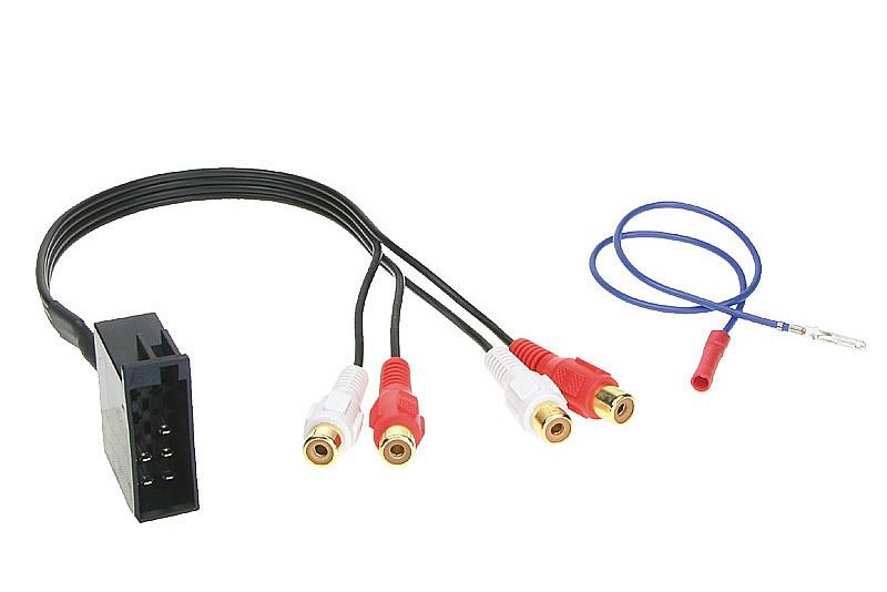 AUX výstup adaptér ISO - cinch