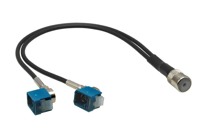 Anténní adaptér ISO - 2x FAKRA 2957412