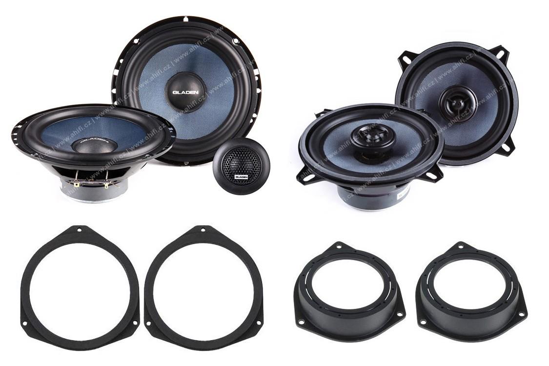 Reproduktory do Fiat Grande Punto, Punto Evo, Punto set č.2