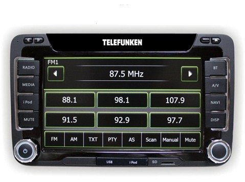Telefunken TF AS 9180 Skoda