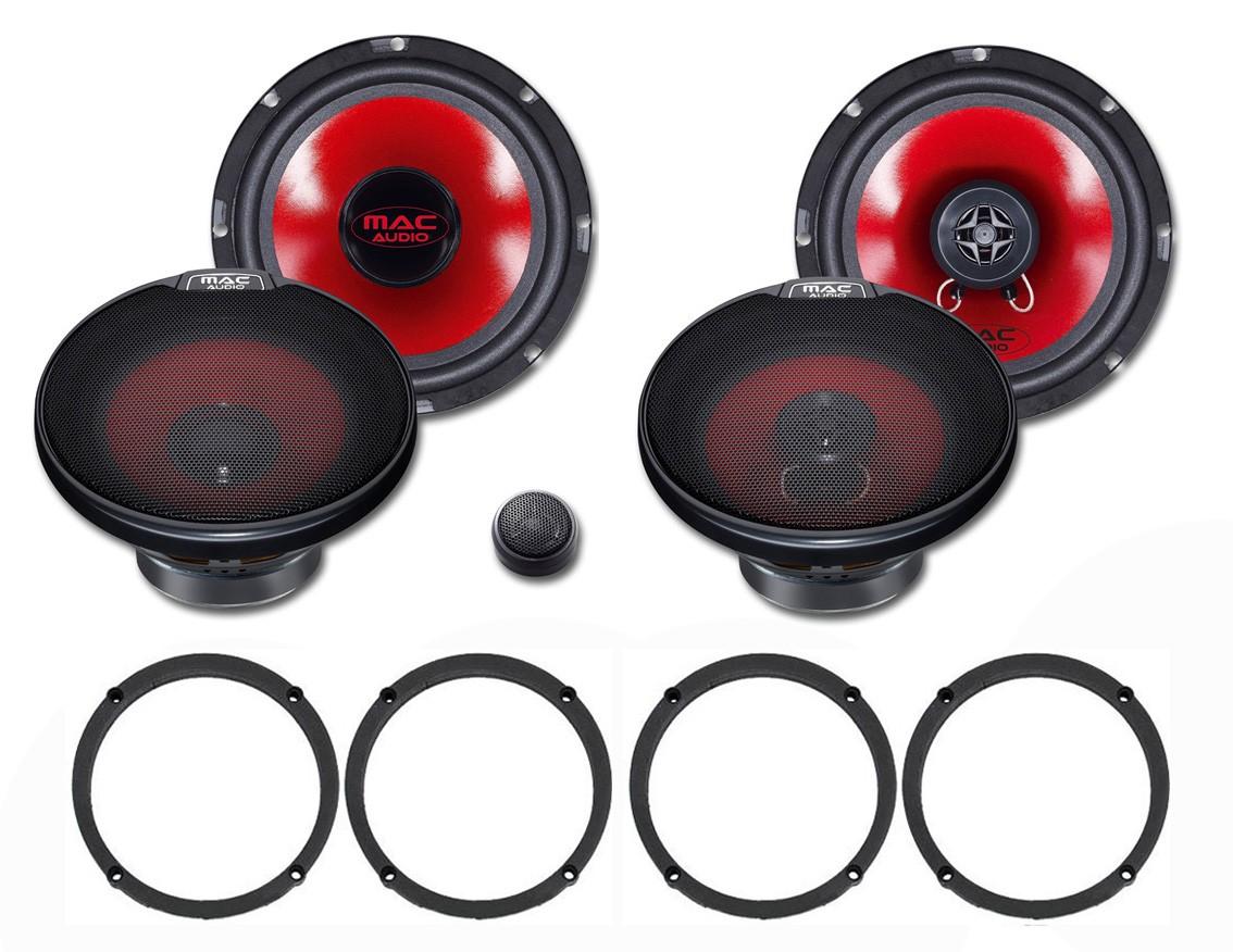 Reproduktory do Seat Ibiza III set č.1