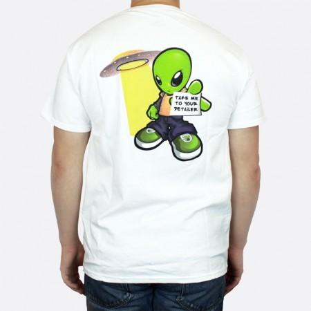 Tri ko dodo juice alien 39 t shirt white extra large for Extra tall white t shirts