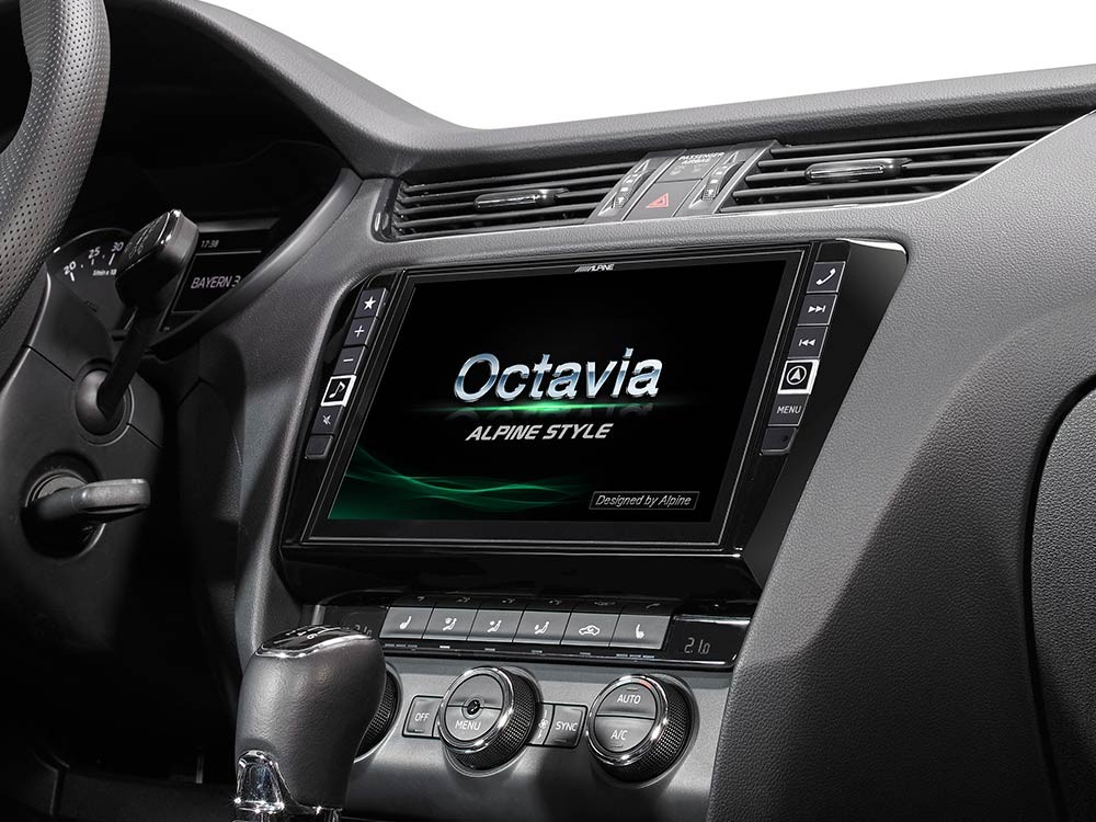 gps navigace pro koda octavia 3 alpine x901d oc3. Black Bedroom Furniture Sets. Home Design Ideas