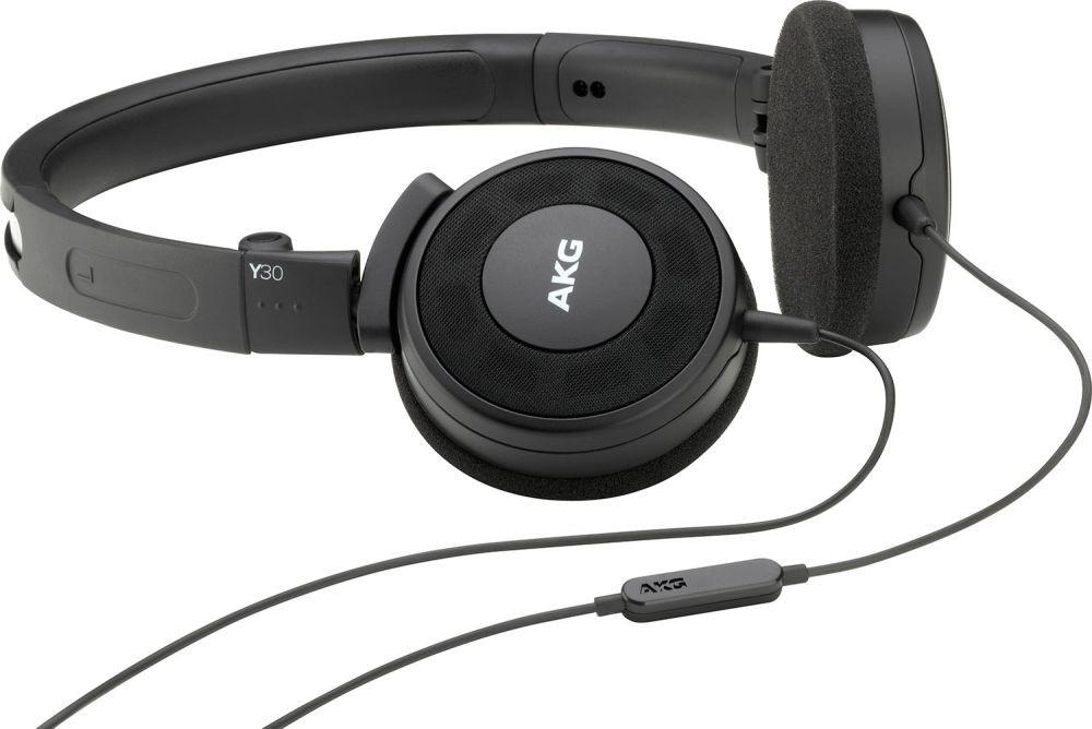 Náhlavní sluchátka AKG Y30U BLK