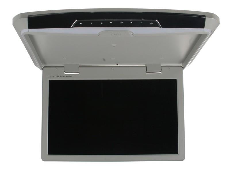 """Stropní LCD monitor 17,3"""" USB/SD/HDMI černý neotočný ds-173gr"""