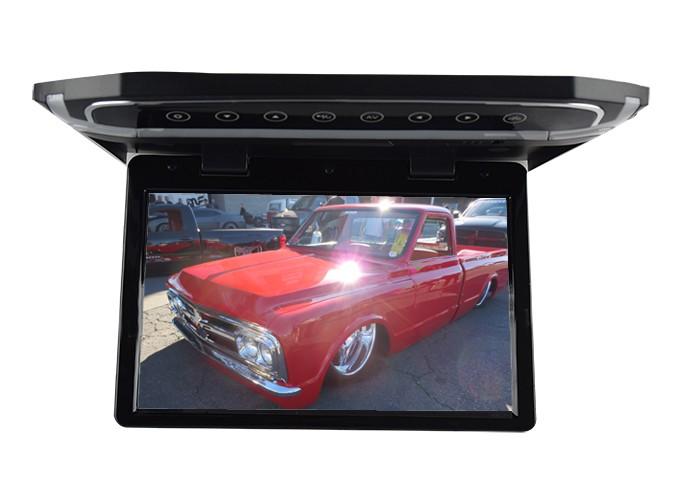 """Stropní LCD monitor 10,1"""" černý s HDMI/microSD,IR,FM, ultra tenký ds-101bl"""