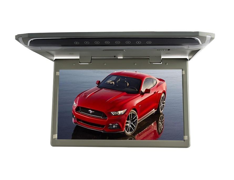 """Stropní LCD monitor 12,1"""" černý s HDMI/microSD,IR, FM, ultra tenký ds-121gr"""