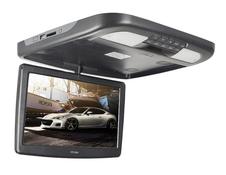 """Stropní monitor 11,6"""" černý s DVD / SD / USB ds-x116d"""
