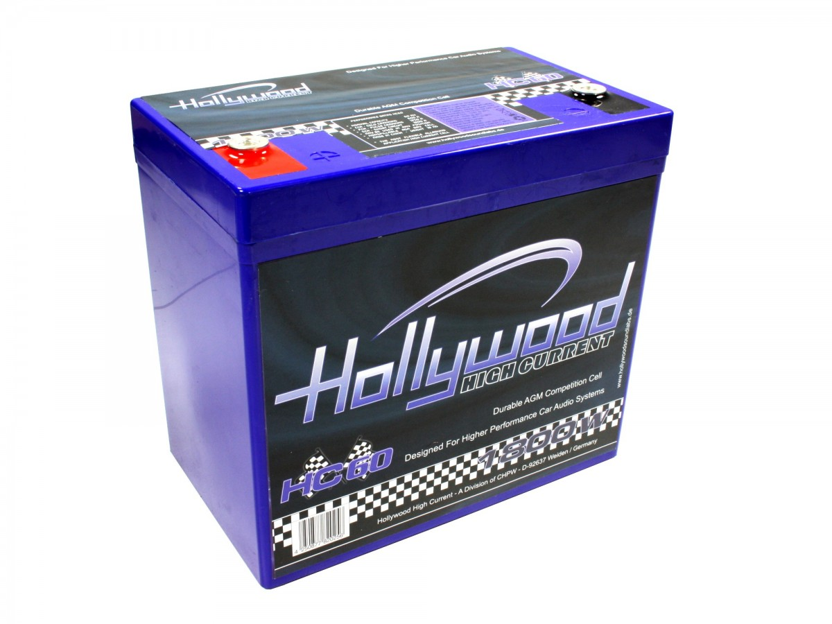 Autobaterie Hollywood HC 60