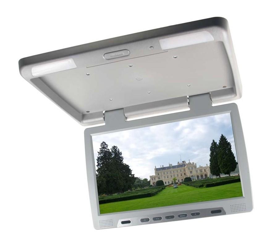 "Stropní LCD monitor 15,6"" černý neotočný ic-1549gr"