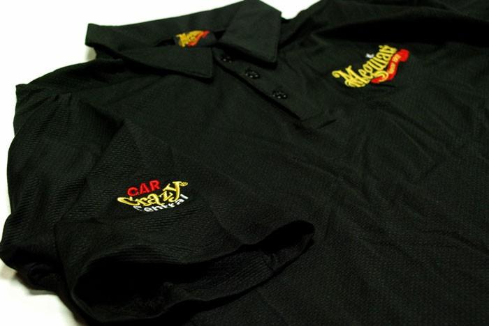 Meguiars originální tričko s límečkem XL