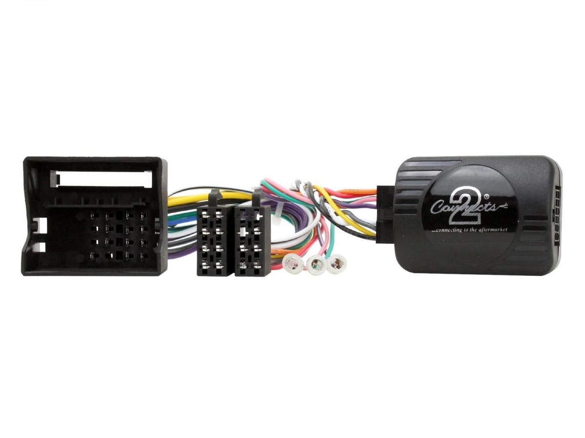 Connects2 SWC PSA 08 adaptér ovládání na volantu Peugeot 207, 307, 308, 3008, 407, 607, 807