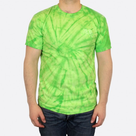 Tričko Dodo Juice Alien' T-shirt Tie-Dye Green Small