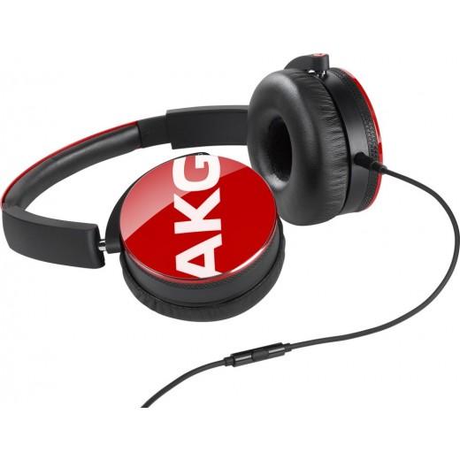 Náhlavní sluchátka AKG Y50 RED