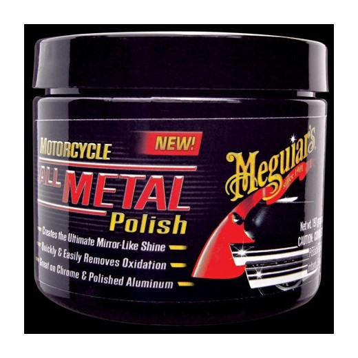 MEGUIARS MOTORCYCLE ALL METAL POLISH - 177ml