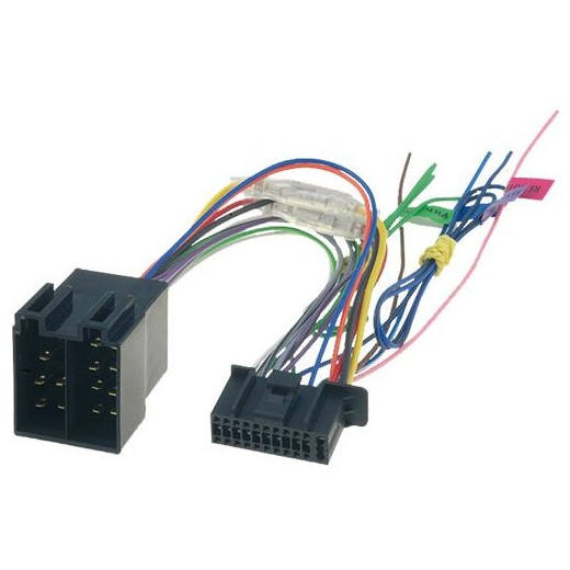 Kenwood 22 pin - ISO konektor