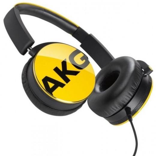 Náhlavní sluchátka AKG Y50 YEL