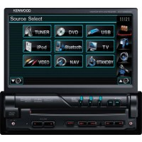 Autorádio KENWOOD KVT-526DVD + KCA-BT300
