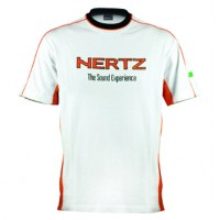 Tričko Hertz White/Orange short sleeve T-Shirt S