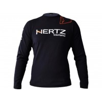Tričko Hertz Black Long Sleeve T-Shirt L