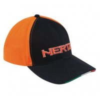 Kšiltovka Hertz Winter Orange/Black Cap