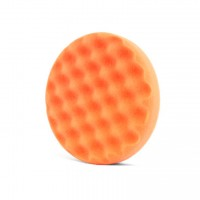 Tvrdý kotouč Dodo Juice Waffle Orange Polishing Foam Pad 150 mm