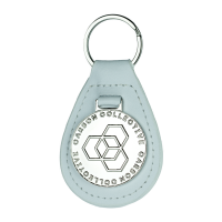 Carbon Collective Key Fob White