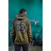 Mikina Carbon Collective Hoodie Green - M