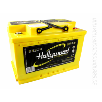 Autobaterie Hollywood DIN 70