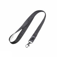 Auto Finesse Luxury Embossed Lanyard Long Black