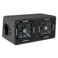 Subwoofer v boxu Kicker DS12L72