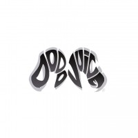 Samolepka Dodo Juice Logo Vinyl Sticker Small Black and White
