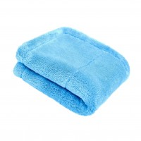 Mikrovláknová utěrka Purestar Plush Edgeless Premium Buffing Towel Blue