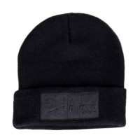 Čepice Auto Finesse The Double Stack Beanie Black