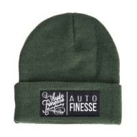 Čepice Auto Finesse The Double Stack Beanie Green