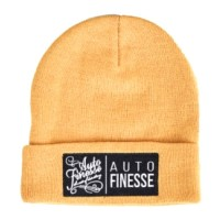 Čepice Auto Finesse The Double Stack Beanie Mustard